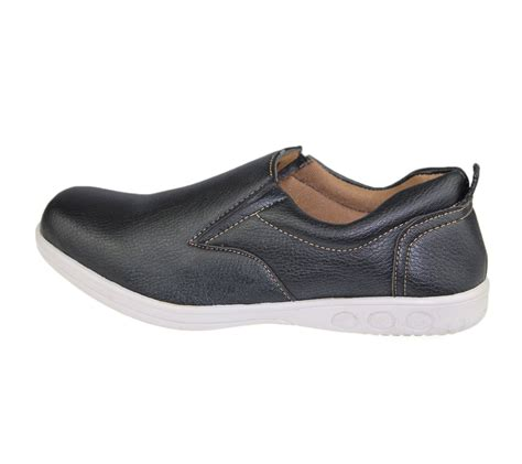 walking comfort mens slip on casual shoes deck loafers walking comfort