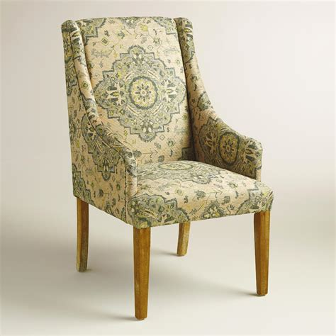 yellow and grey dining chairs yellow and gray medallion jayda dining chair world market