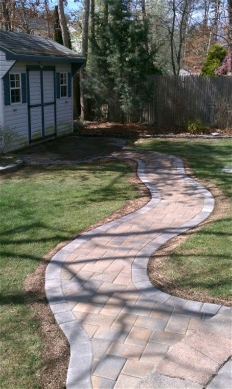 custom home paver projects jersey shore pavers