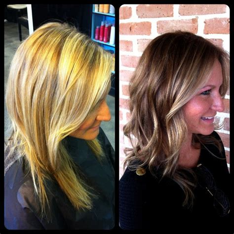 blonde to brunette hair color fullproof guide to bronde hair that doesn t look dirty