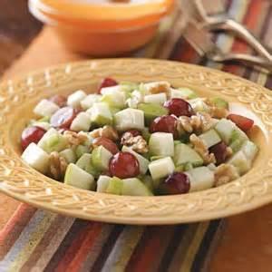 taste of home grape salad apple grape salad recipe taste of home