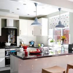 Craft Room Storage Units - white gloss kitchen with granite worktops kitchen decorating housetohome co uk
