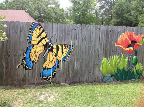 Backyard Wall Painting Ideas Pin By Szikszai Szabolcs On Garden Gardening Pinterest Fences Gardens And Yards