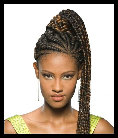 human hair ponytail with goddess braid cornrows into ponytail best of braids pinterest cornrows ponytail and hair style