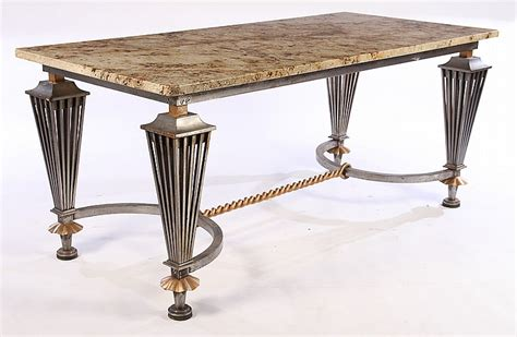 Wrought Iron Table Ls Uk by Wrought Iron Dining Library Table Top