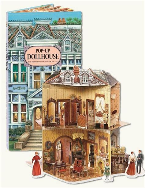 a doll house book pop up dollhouse book three dimensional victorian dollhouse