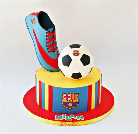 barcelona cake barcelona soccer cake cakecentral com