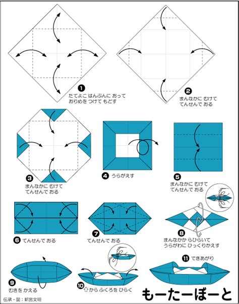 How To Make A Paper Motor Boat - extremegami how to make a origami motorboat