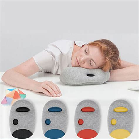 portable nap pillow cool mini light arm hand ostrich
