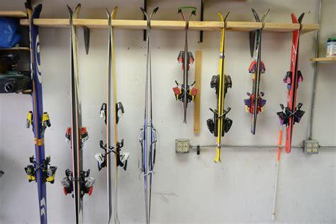Garage Ski Storage Ideas Make Your Own Garage Ski Rack For Cheap Bring The