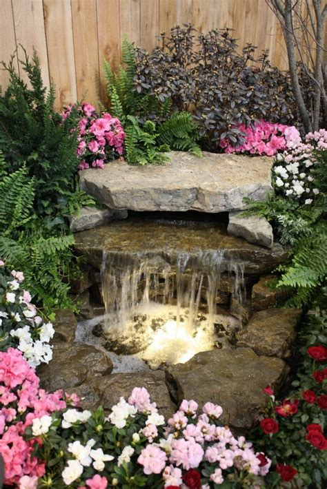 wasserfall im garten selber bauen und die harmonie der - Stein Wasserfall Garten