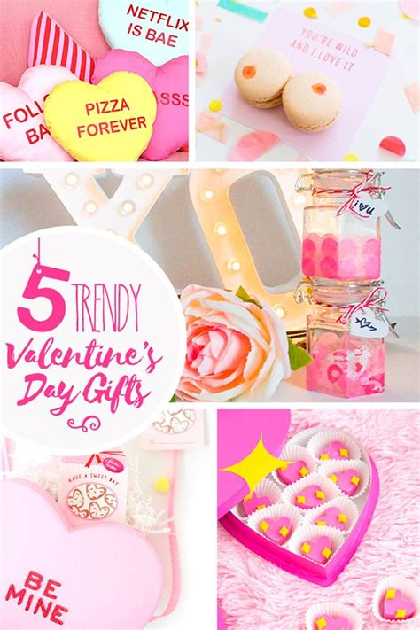 5 Valentines Day Gifts by 5 Trendy S Day Gifts Artful Days