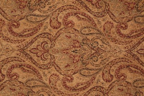 wohnkultur letmathe tapestry upholstery fabric burgundy and green floral