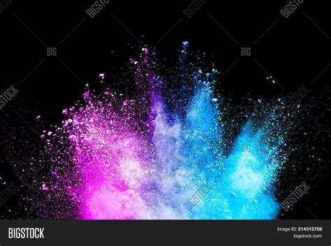 color dust color powder explosion image photo free trial bigstock