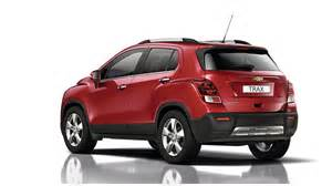 official more details about chevrolet trax compact suv