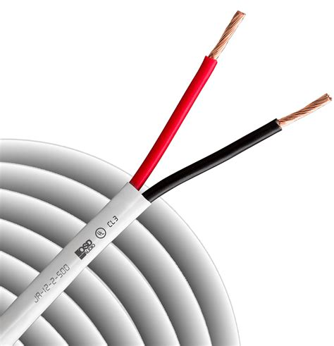 speaker cables best speaker wire and cable in canada 12 gauge 2 conductor oxygen free burial rated in wall