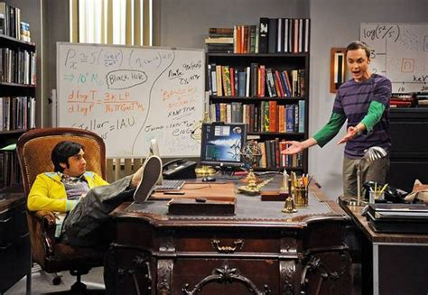 Raj Desk Sheldon Office Live Blogging Big Theory S4 The Troll Deviation