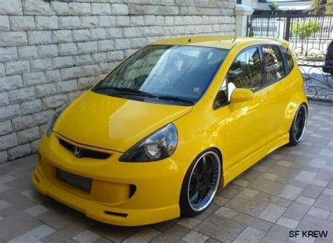 honda fit modified images  pinterest honda