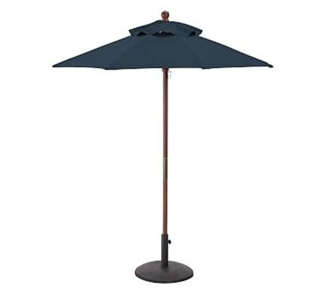 Pottery Barn Patio Umbrella Rectangular Outdoor Umbrella Rectangular Market Umbrella Pottery Barn