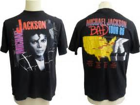 Michael jackson 1988 bad tour t shirt 163 35 available at our brick