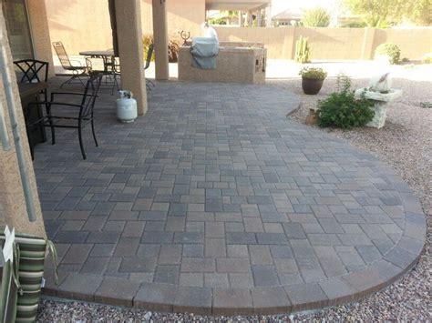 Belgard Patio Pavers Blend Belgard Arizona Pavers Installed Company Patios