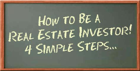 how to become a successful real estate investor ed how to become a successful real estate investor simple