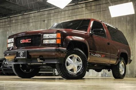 manual cars for sale 1993 gmc yukon navigation system sell used 1994 gmc yukon gt pkg 4 4 speed auto trans all original only 27k miles in addison