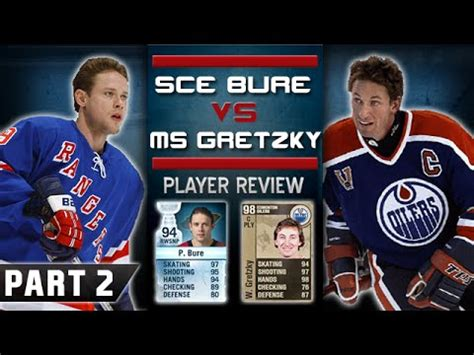 nhl 15 hut legend player review bure vs gretzky youtube a bure vs elaegypt
