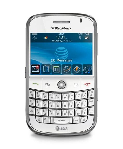Hp Blackberry Onyx White At T Launching White Blackberry Bold On Oct 18