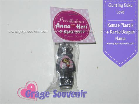 Souvenir Gunting Kuku Kemas gunting kuku kartu ucapan murah jual souvenir pernikahan