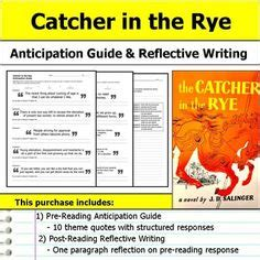 big themes in catcher in the rye jane eyre anticipation guide reflection jane eyre