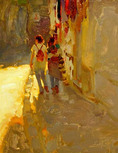 a painter kim english 1957 plein air painter tutt art