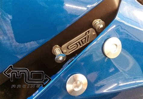 Kancing Bumper Racing Release 08 14 gr gv sti and wrx release bumper kit billet move racing