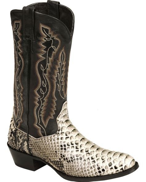 mens python boots dan post s omaha python cowboy boots toe