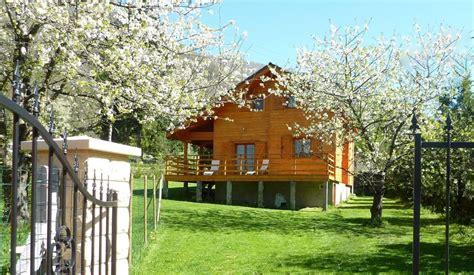 Cloture Jardin Bois 6466 by Grand Chalet De Montagne 10 Pers Pyrenees Ariegeoises