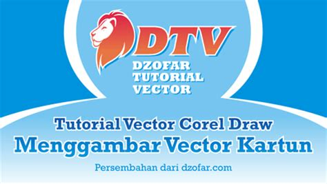 tutorial vector corel x3 video tutorial vector corel draw menggambar wajah menjadi