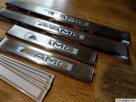 mercedes illuminated cost mercedes cls w219 4 pc illuminated door entry sill