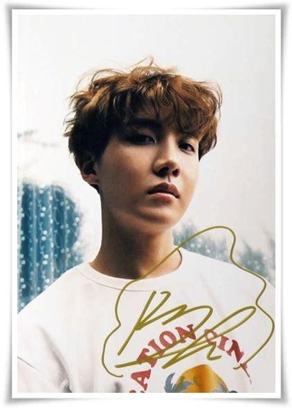 Tas Ransel Promo Kpop Korea Bts Limited bts j autographed signed original photo 4 6 inches
