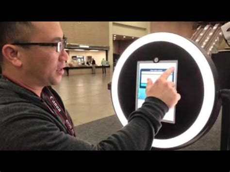 ring light photo booth very first look at helio ipad ringlight image booth