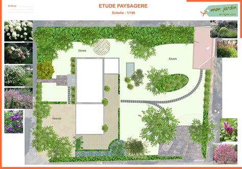 Jardin Paysagé Contemporain by Cr 233 Ation D Un Jardin Contemporain Mon Jardin En Ligne