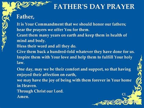 s day grace s day prayer fathers day
