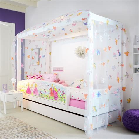 bett 90x200 princess 4 poster bed lifetime furniture cuckooland