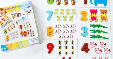 Mainan Edukatif Edukasi Anak Arithmatic Domino Angka Kayu Wooden and children guide