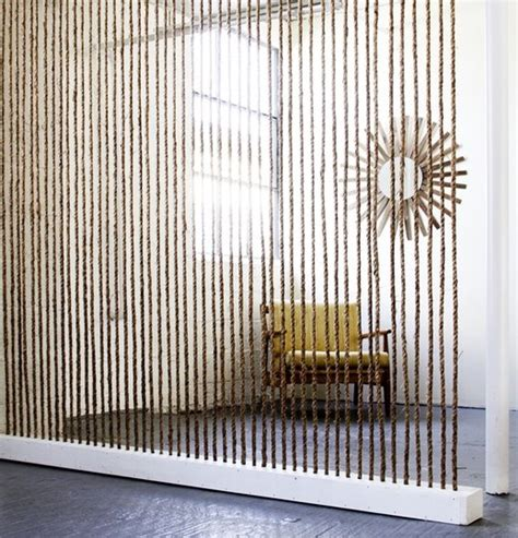 Rope Room Divider Different Room Divider Rope Home