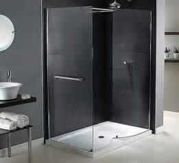 doorless walk in showers design ideas