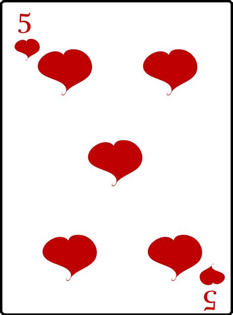 image with hearts clipart 5 of hearts