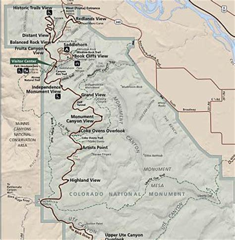 Comfort Suites Colorado Colorado National Monument Map