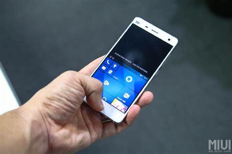 Ugo Antiblue Xiaomi Note 4 xiaomi mi 5 des versions android et windows 10 mobile 224