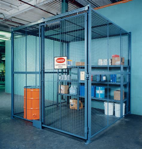 The Tool Crib by Tool Cribs Wire Partition Tool Storage Cages For