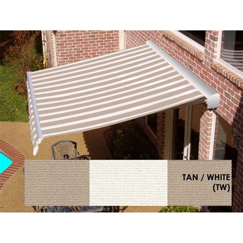 Sears Awnings by Aluminum Retractable Awning Sears